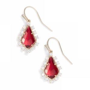 Kendra Scott Juniper Berry Glass Earrings {NWT